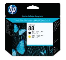 HP Druckkopf 88 schwarz/gelb C9381A OfficeJet Pro K550 90´000 S.