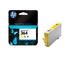 Cartouche d'encre HP 364 jaune originale (HP CB320EE   )