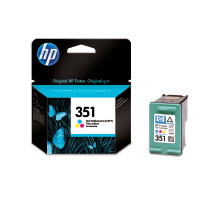 Cartouche d'encre HP 351 color originale (HP CB337EE   )