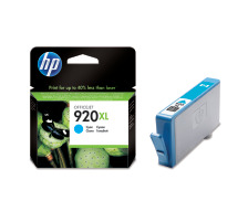 Cartouche d'encre HP 920XL cyan originale (HP CD972AE   )
