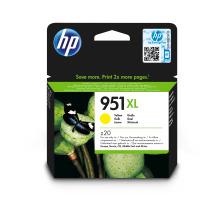 Cartouches d'encre HP 951XL jaune Originale (HP CN048AE)