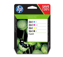 HP Combopack 364 CMYBK N9J73AE PhotoSmart D5460 300/250 S.