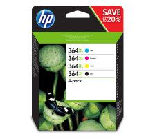 Pack 4 cartouches Originales HP 364XL (HP N9J74AE)