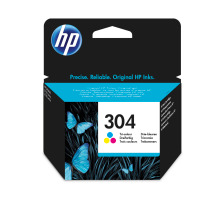 Cartouche d'encre HP 304 3 couleurs Originale (HP N9K05AE)