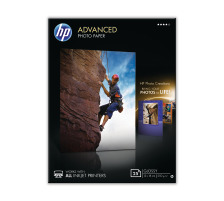 HP Advanced Glossy Photo 13x18cm Q8696A InkJet 250g, randlos 25 Blatt