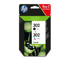 HP Combopack 302 BK/color X4D37AE OfficeJet 3830 190/165 Seiten