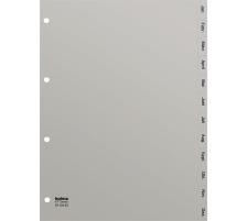 KOLMA Register PP grau A4 18.124.03 Jan.-Dez., Kolmaflex D