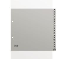 KOLMA Register PP grau A4 18.249.03 A-Z, teildeckend Kolmaflex