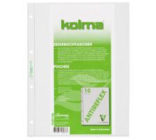 KOLMA Zeigebuchtaschen LineaVerde A4 57.680.00 transp.,CopyResistant 10 Stück