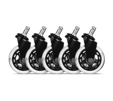 L33T Rubber wheels black, 5-pack 160528 for L33T chairs
