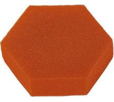 LÄUFER Ersatzschwamm orange 72741 7cm für Marken