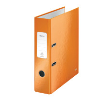 LEITZ Ordner WOW 8cm 10050044 orange metallic A4
