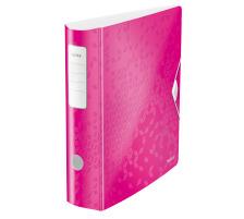 LEITZ Ordner 8cm 11060023 pink metallic A4