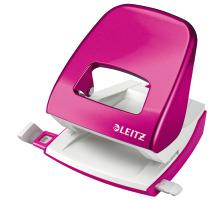 LEITZ Bürolocher NeXXt WOW 8cm/5.5mm 50082023 pink metallic für 30 Blatt