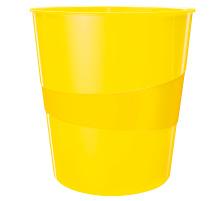 LEITZ Papierkorb WOW 15 Liter 52781016 gelb