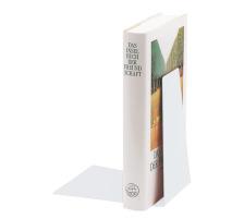 LEITZ Buchstütze Metall 52980001 weiss 12,5x14,5x14cm