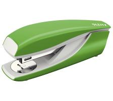 LEITZ Heftapparat 3mm 55020050 grün Vollmetall mit Kunststoff-Kappe , heftet 2,5 bis 3 mm , Einlegetiefe 70 mm , Klammern 24/6 oder 26/6., Abmessung: 40x58x145mm, Zubehör Nein, Heftleistung Blatt max. 30, Heftertyp Bürohefter, Schenkellänge 10mm, Off