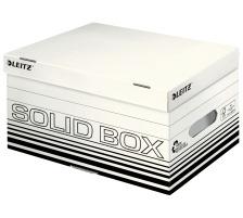 LEITZ Archiv-Box Solid S 61170001 weiss, mit Griff