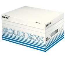 LEITZ Archiv-Box Solid S 61170030 blau, mit Griff