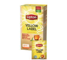 LIPTON Yellow Label Tea 160231 25 Beutel