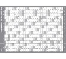 MAGNETOP. Jahresplaner-Folie 1235121 865x620mm 2021