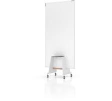 MAGNETOP. Design-Thinking Whiteboard Set 12412192 mit Base 178x90cm