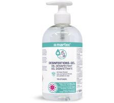 MARTEC Desinfektionsmittel 500ml 33051 Handgel, mit Aloe-Vera