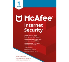 MCAFEE Internet Security MIS00GNR1 1 Device (Code in a box)
