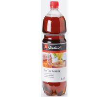 QUALITY Ice Tea Lemon PET 1,5lt 686080 6 Stück
