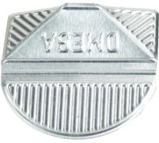 OMEGA Eckklammern 100/23 silber 100 Stk. Aluminium, farbig lackiert., Dispenser Nein, Grösse (Länge) 10.3cm, Anzahl (Stück) 100, Material Aluminium, Typ Eckenklammer, Farbe(Filter) silber