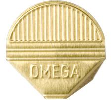 OMEGA Eckklammern 1000/82 gold 1000 Stk. Aluminium, farbig lackiert., Dispenser Nein, Grösse (Länge) 10.3cm, Anzahl (Stück) 1000, Material Aluminium, Typ Eckenklammer, Farbe(Filter) gold