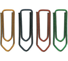 OMEGA Büroklammern Gr.3 103/08 rot, 28mm 100 Stück Lackierter Draht., Lackierter Draht, Dispenser Nein, Grösse (Länge) 28, Anzahl (Stück) 100, Material Metall lackiert, Typ Büroklammer, Grössen Typ Gr. 3, Farbe(Filt