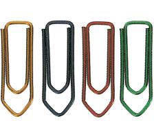 OMEGA Büroklammern Gr.3 103/10 grün, 28mm 100 Stück Lackierter Draht., Lackierter Draht, Dispenser Nein, Grösse (Länge) 28, Anzahl (Stück) 100, Material Metall lackiert, Typ Büroklammer, Grössen Typ Gr. 3, Farb