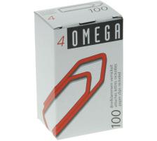 OMEGA Büroklammern Gr.4 4/100 vernickelt, 32mm 100 Stück Vernickelt., Dispenser Nein, Grösse (Länge) 32, Anzahl (Stück) 100, Material Metall vernickelt, Typ Büroklammer, Grössen Typ Gr. 4, Farbe(Filter) silber