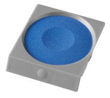 PELIKAN Deckfarbe Pro Color 735K/108 blau Passend zu Deckfarbkasten 735 K12 und K24 sowie zu ProColor., kobaltblau, Verpackung Klarsichtbox, Typ Zubehör, Zubehör Typ Deckfarbe, Mit Pinsel Nein, Mit Deckweiss Nein, Farbe(Filter) blau, Anzahl