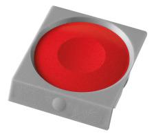 PELIKAN Deckfarbe Pro Color 735K/34 karmin Passend zu Deckfarbkasten 735 K12 und K24 sowie zu ProColor., karminrot, Verpackung Klarsichtbox, Typ Zubehör, Zubehör Typ Deckfarbe, Mit Pinsel Nein, Mit Deckweiss Nein, Farbe(Filter) rot, Anzahl