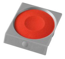 PELIKAN Deckfarbe Pro Color 735K/54 zinnober Passend zu Deckfarbkasten 735 K12 und K24 sowie zu ProColor., zinnober dunkel, Verpackung Klarsichtbox, Typ Zubehör, Zubehör Typ Deckfarbe, Mit Pinsel Nein, Mit Deckweiss Nein, Farbe(Filter) rot,