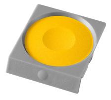 PELIKAN Deckfarbe Pro Color 735K/59A gelb Passend zu Deckfarbkasten 735 K12 und K24 sowie zu ProColor., gelb, Verpackung Klarsichtbox, Typ Zubehör, Zubehör Typ Deckfarbe, Mit Pinsel Nein, Mit Deckweiss Nein, Farbe(Filter) gelb, Anzahl Farbe