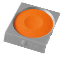 PELIKAN Deckfarbe Pro Color 735K/59B orange Passend zu Deckfarbkasten 735 K12 und K24 sowie zu ProColor., orange, Verpackung Klarsichtbox, Typ Zubehör, Zubehör Typ Deckfarbe, Mit Pinsel Nein, Mit Deckweiss Nein, Farbe(Filter) orange, Anzahl