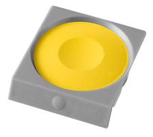 PELIKAN Deckfarbe Pro Color 735K/59D gelb Passend zu Deckfarbkasten 735 K12 und K24 sowie zu ProColor., zitron, Verpackung Klarsichtbox, Typ Zubehör, Zubehör Typ Deckfarbe, Mit Pinsel Nein, Mit Deckweiss Nein, Farbe(Filter) gelb, Anzahl Far