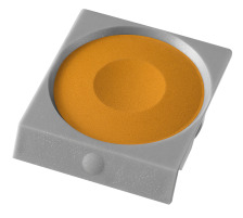 PELIKAN Deckfarbe Pro Color 735K/80 ocker Passend zu Deckfarbkasten 735 K12 und K24 sowie zu ProColor., ockergelb, Verpackung Klarsichtbox, Typ Zubehör, Zubehör Typ Deckfarbe, Mit Pinsel Nein, Mit Deckweiss Nein, Farbe(Filter) braun, Anzahl