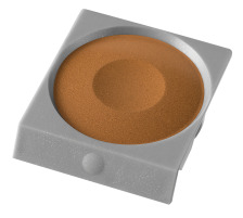 PELIKAN Deckfarbe Pro Color 735K/81 gelb/braun Passend zu Deckfarbkasten 735 K12 und K24 sowie zu ProColor., gelbbraun, Verpackung Klarsichtbox, Typ Zubehör, Zubehör Typ Deckfarbe, Mit Pinsel Nein, Mit Deckweiss Nein, Farbe(Filter) braun, A