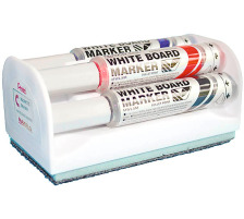 PENTEL Whiteboard Marker 6mm MWL5M4BOX 4 Farben, Box