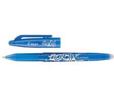 PILOT Roller FriXion Ball 0.7mm BL-FR7-LB hellblau, nachfüllbar,radierb. Tinte ist ausradierbar , mit Radiergummi am Schaftende der sich nicht abnützt und keine Radier-Rückstände gibt , Minenspitze 0,7 mm , Strichbreite 0,35 mm.,