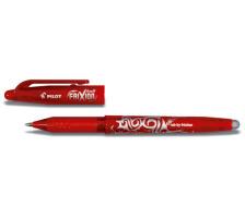 PILOT Roller FriXion Ball 0.7mm BL-FR7-R rot, radierbar, nachfüllbar Tinte ist ausradierbar , mit Radiergummi am Schaftende der sich nicht abnützt und keine Radier-Rückstände gibt , Minenspitze 0,7 mm , Strichbreite 0,35 mm., Tint