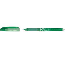 PILOT Roller FriXion Point 0.5mm BL-FRP5-G grün, nachfüllbar, radierbar Tinte ist ausradierbar , mit Radiergummi am Schaftende der sich nicht abnützt und keine Radier-Rückstände gibt , Strichbreite 0,25 mm., Ausführung: