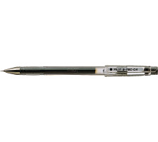 PILOT Gelschreiber G-TEC C4 0,4mm BL-GC4-B schwarz Schaft transparent mit Steckkapp , ultrafeine Schreibspitze 0,4 mm (ca. 1000 m) , Strichbreite 0,2 mm., Anwendungen: geeignet für Durchschläge und Schablonen, reprofähiger Strich f&uum