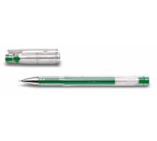 PILOT Gelschreiber G-TEC C4 0,4mm BL-GC4-G grün Schaft transparent mit Steckkapp , ultrafeine Schreibspitze 0,4 mm (ca. 1000 m) , Strichbreite 0,2 mm., Anwendungen: geeignet für Durchschläge und Schablonen, reprofähiger Strich f&u