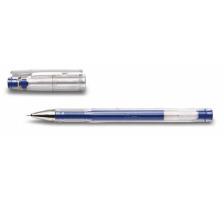 PILOT Gelschreiber G-TEC C4 0,4mm BL-GC4-L blau Schaft transparent mit Steckkapp , ultrafeine Schreibspitze 0,4 mm (ca. 1000 m) , Strichbreite 0,2 mm., Anwendungen: geeignet für Durchschläge und Schablonen, reprofähiger Strich für