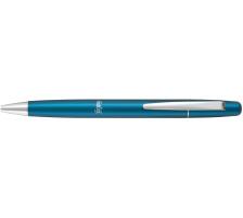 PILOT Frixion Ball LX 0,7mm BLL-FBK7- blau Glänzender Metallschaft , Druckmechanik am Clip , integrierter Radierer unter Kappe , Klickindikator auf Schaft , Schreibfarbe blau , ausradierbare Tinte , nachfüllbar mit Frixion Ball 0,7 Mine., g